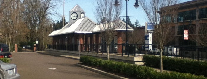 TriMet Tualatin WES Station is one of Lugares favoritos de Rosana.