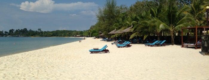 Sokha Beach Resort is one of Lieux qui ont plu à Pagna.
