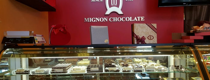 Mignon Chocolate is one of LA Sweetooth.