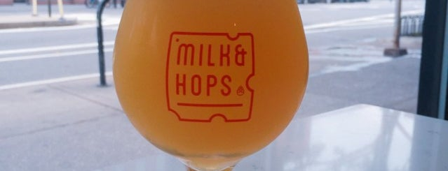 Milk & Hops Chelsea is one of Top Beer Gardens to Celebrate Oktoberfest.