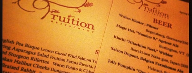 Fruition Restaurant is one of Best of Denver: Food & Drink.