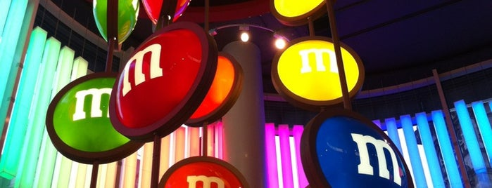 M&M's World is one of Where to go in London.