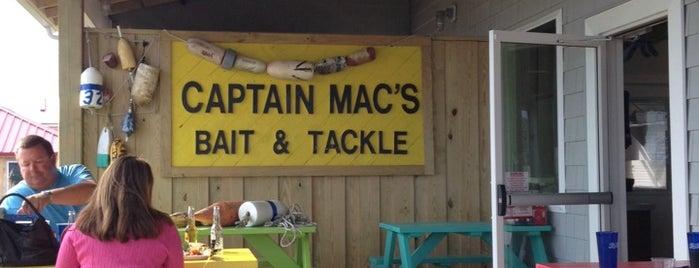 Captain Mac's Fish House is one of Locais curtidos por Jana.
