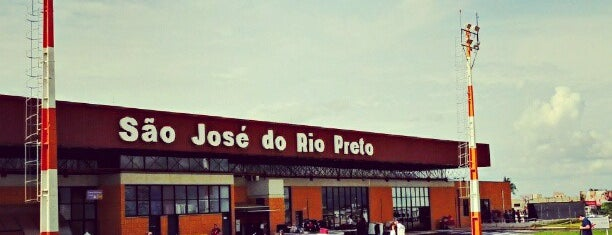 Aeroporto de São José do Rio Preto / Prof. Eribelto Manoel Reino (SJP) is one of Por Aí.