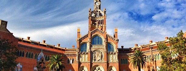 Hospital de la Santa Creu i Sant Pau is one of lugares donde me siento bien LA BARCELONA OCULTA.