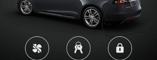 Tesla Destination Charger Lindner Congress is one of Elektroladesäulen.
