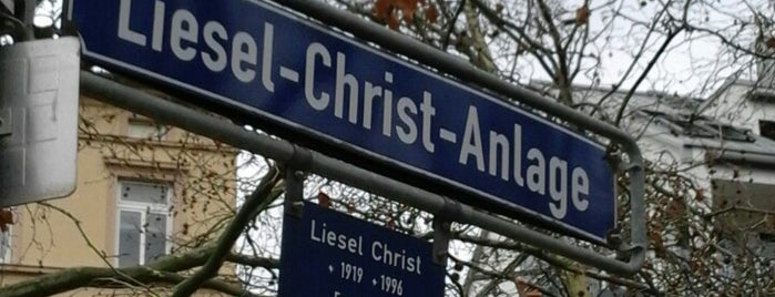 Liesel-Christ-Anlage is one of Best of Frankfurt am Main.