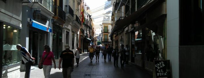 Calle Sierpes is one of Seville.