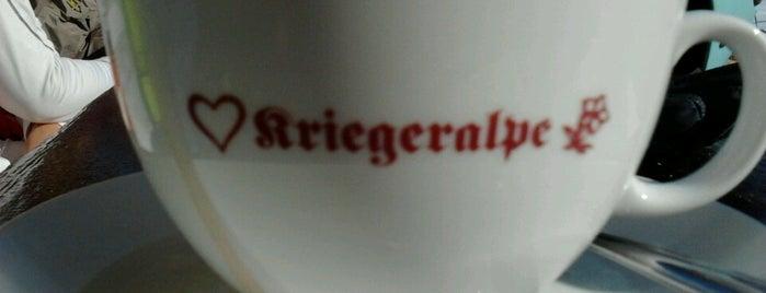 Kriegeralpe is one of Orte, die Christian gefallen.