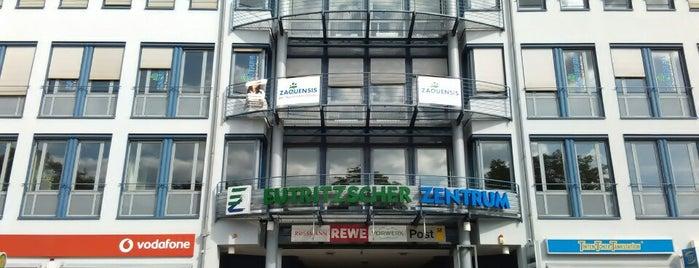 Eutritzscher Zentrum is one of Leipzig.