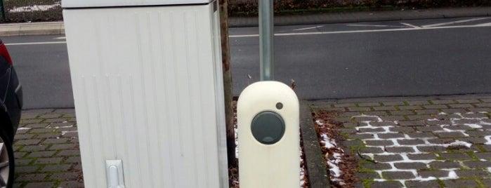 Ladesäule Weilbachhalle (New Motion) is one of Elektroladesäulen.