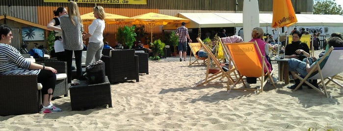 Niddastrand - Beachclub is one of Frankfurter.