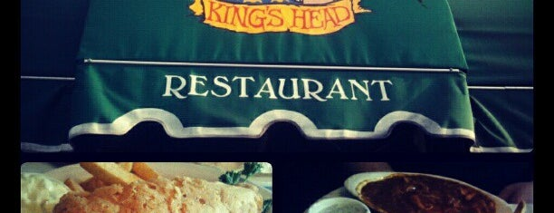 Ye Olde King's Head is one of Lieux sauvegardés par Olivia.