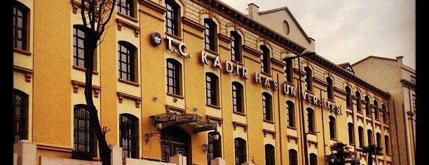 Kadir Has Üniversitesi is one of Check-in liste - 2.