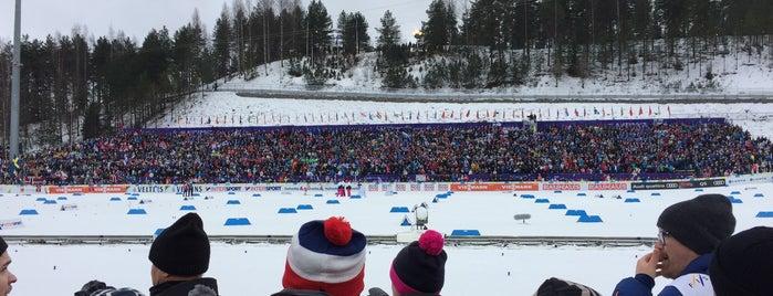 FIS NORDIC WORLD SKI CHAMPIONSHIPS LAHTI2017 is one of 🍍 : понравившиеся места.