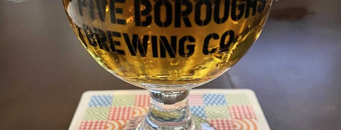 Five Boroughs Brewing Co. is one of Breweries & Wineries.