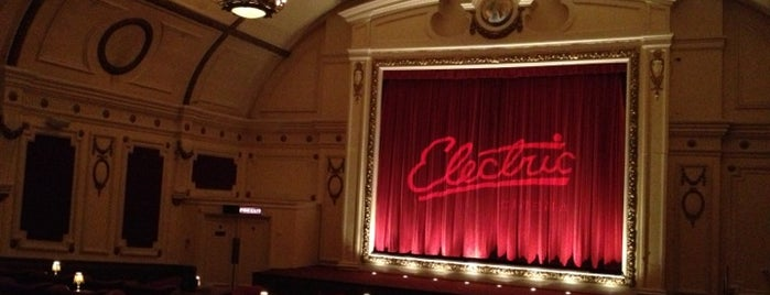 Electric Cinema is one of Far Far Away.