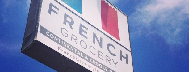 French Grocery is one of Places to try.