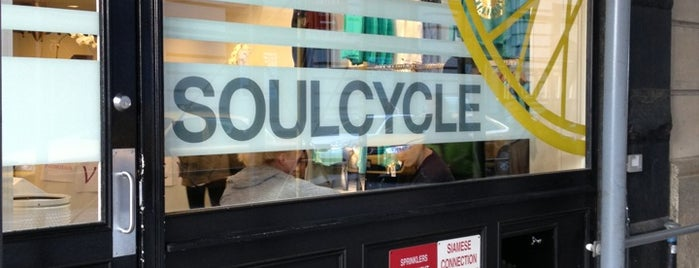SoulCycle Union Square is one of Locais curtidos por Adam.