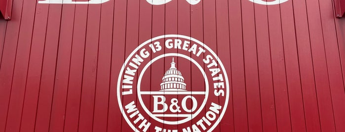 B&O Railroad Museum: Ellicott City Station is one of B'more-Washington metro.