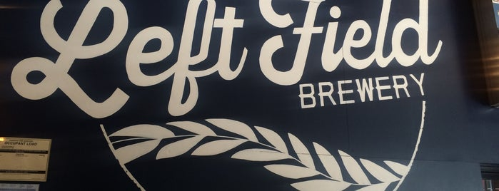 Left Field Brewery is one of Toronto.