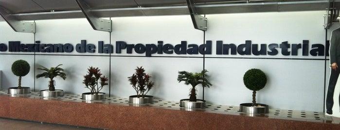 Instituto Mexicano de la Propiedad Industrial is one of Ricardo'nun Beğendiği Mekanlar.