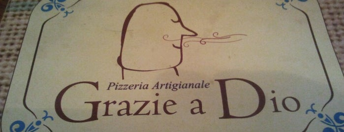 Grazie a Dio Pizzeria Artigianale is one of สถานที่ที่ Daniel ถูกใจ.