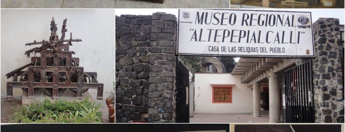 Museo Regional Altepepialcalli is one of Chris : понравившиеся места.
