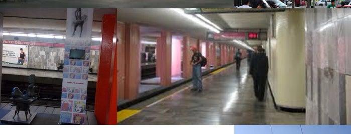 Metro Salto Del Agua [Líneas 1 y 8] is one of Mexico City.