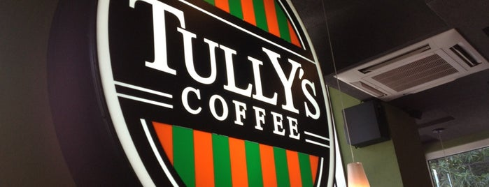 Tully's Coffee is one of cafe crawl ☕️.