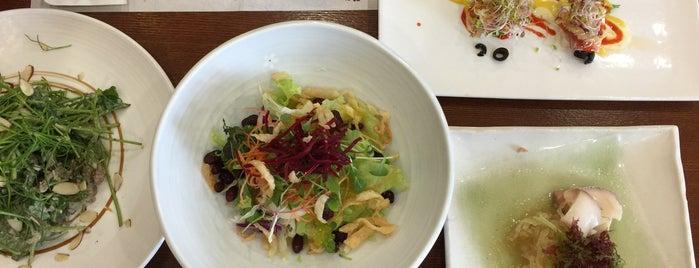 산아래 is one of Korean food.