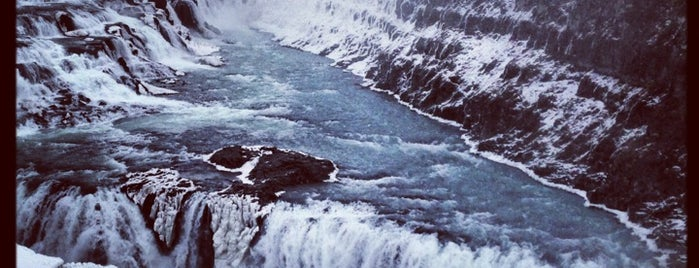 Gullfoss is one of Icelist.