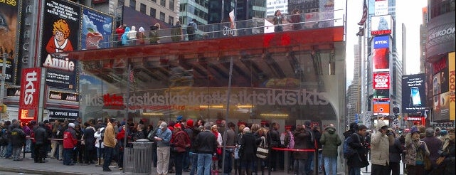 TKTS is one of try! NYC.