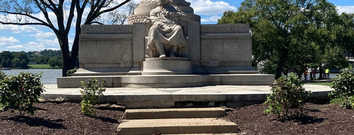 John Ericsson Memorial is one of DC Monuments Run.