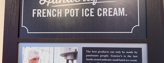 Graeter's Ice Cream is one of Tempat yang Disukai Karen.