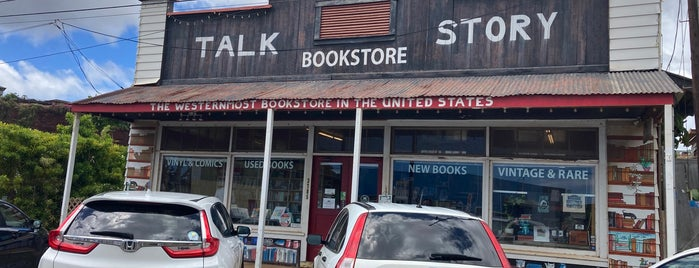 Talk Story Bookstore is one of kauai.