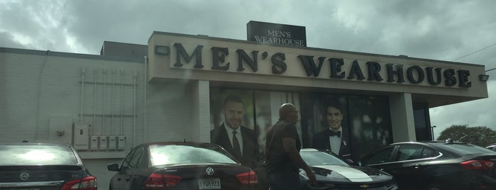 Men's Wearhouse is one of Lieux qui ont plu à Ben.