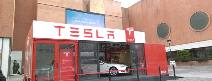 Tesla Motors Popup Store is one of Lieux sauvegardés par Elias.