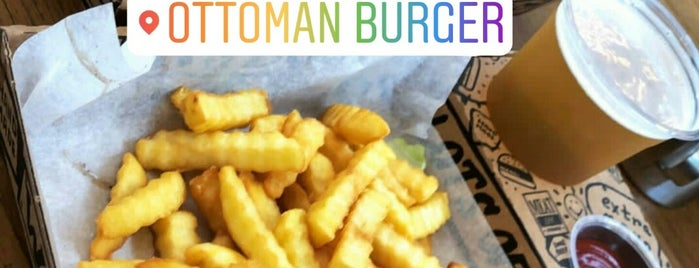 Ottoman Burger is one of Locais curtidos por Ömer.