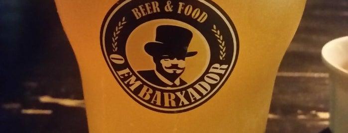O Embarxador is one of Craft Beer In San Paolo E Rio De Janeiro.