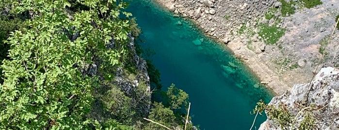 Modro jezero is one of Lazer.