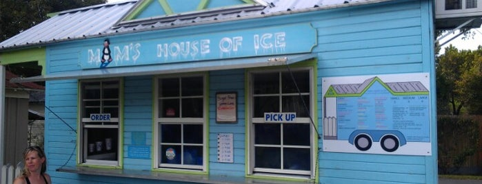 MAM'S House of Ice is one of Food Trucks.