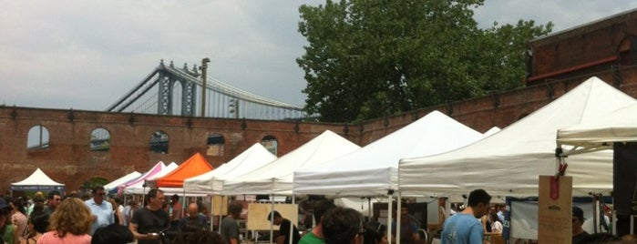 Smorgasburg is one of Favorite places to eat.