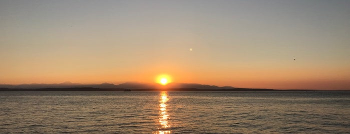 Alki Beach is one of Seattle's Swimming Holes.