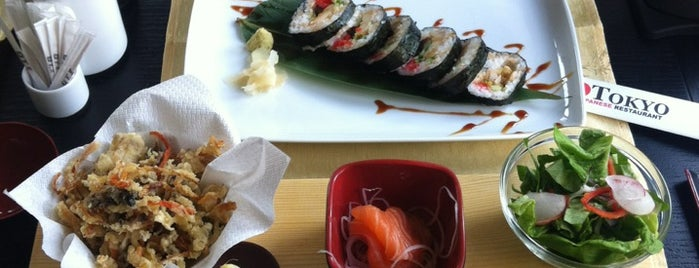 Tokyo Japanese Restaurant is one of Great restaurants & cafes in Cluj.