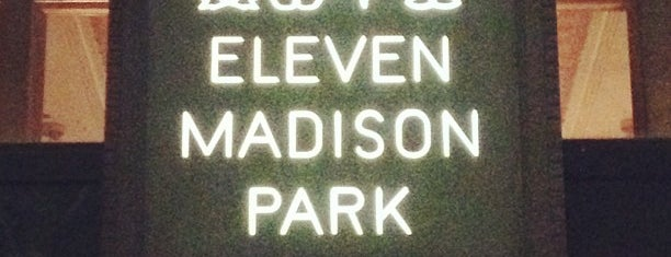 Eleven Madison Park is one of Flatiron Fancy.