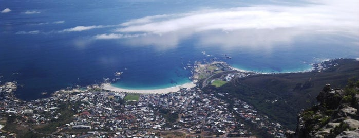 Top of Table Mountain is one of #ETAS15 021 Cape Town.