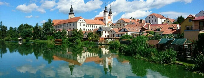 Telč is one of UNESCO World Heritage Sites in Eastern Europe.