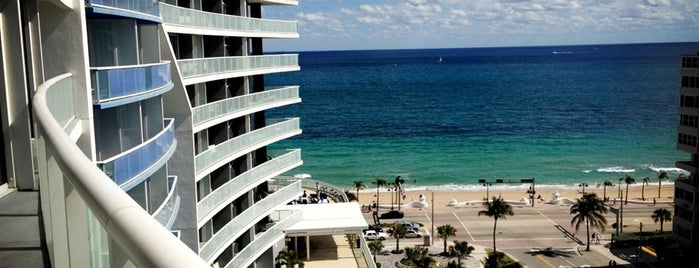 W Fort Lauderdale is one of New Times Broward-Palm Beach Best x10 (100%).