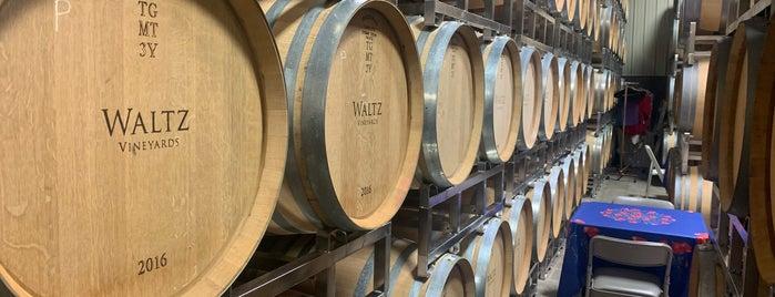 Waltz Vineyards & Winery is one of Wineries Visited.